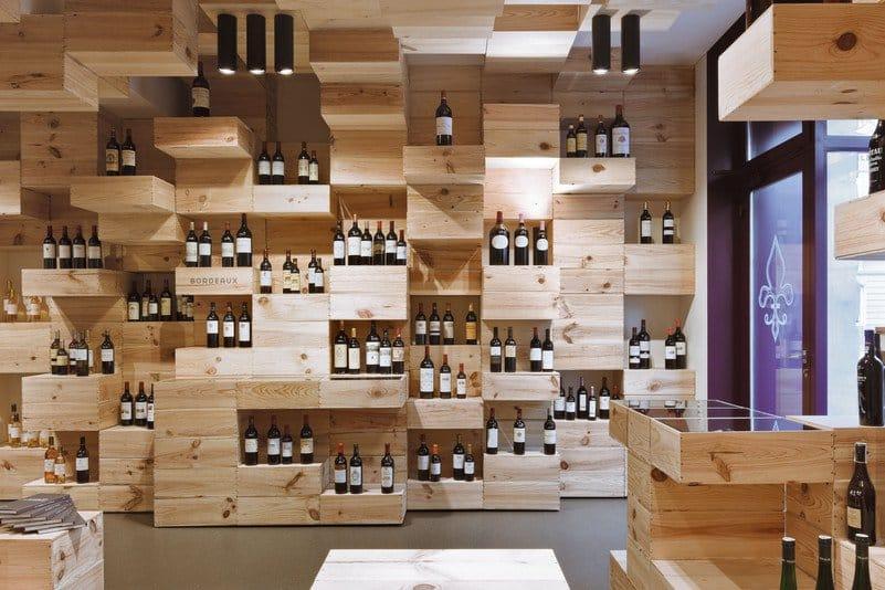 Simply4friends for Meuble caisse de vin en bois