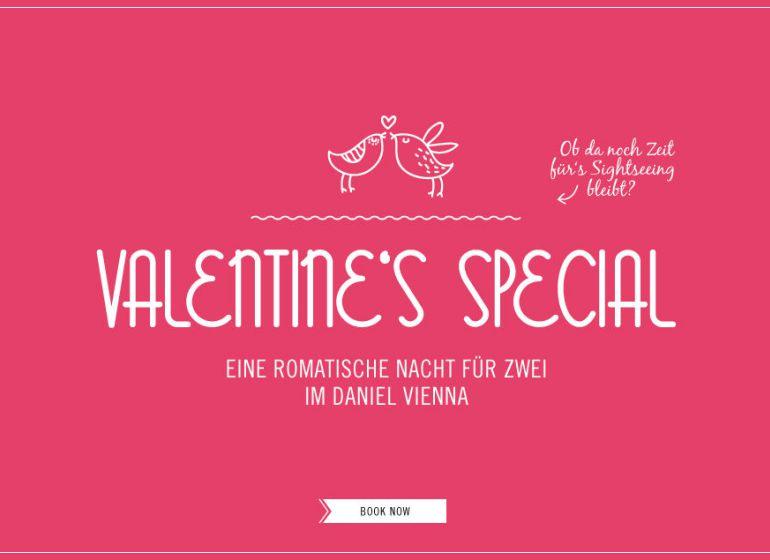 Special header valentines