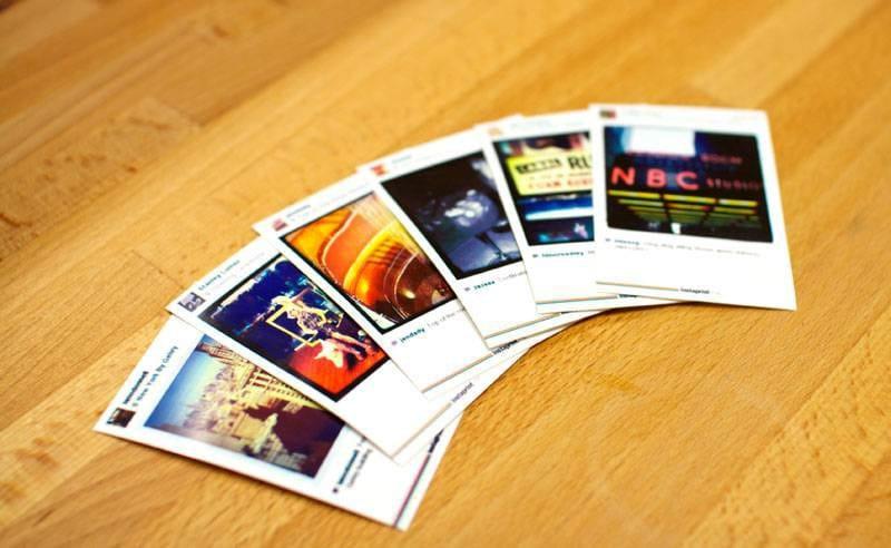 Instaprint prints 800 display