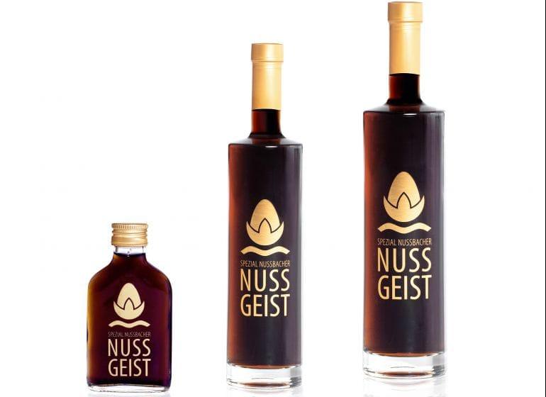 2 nussgeist flaschen sorten