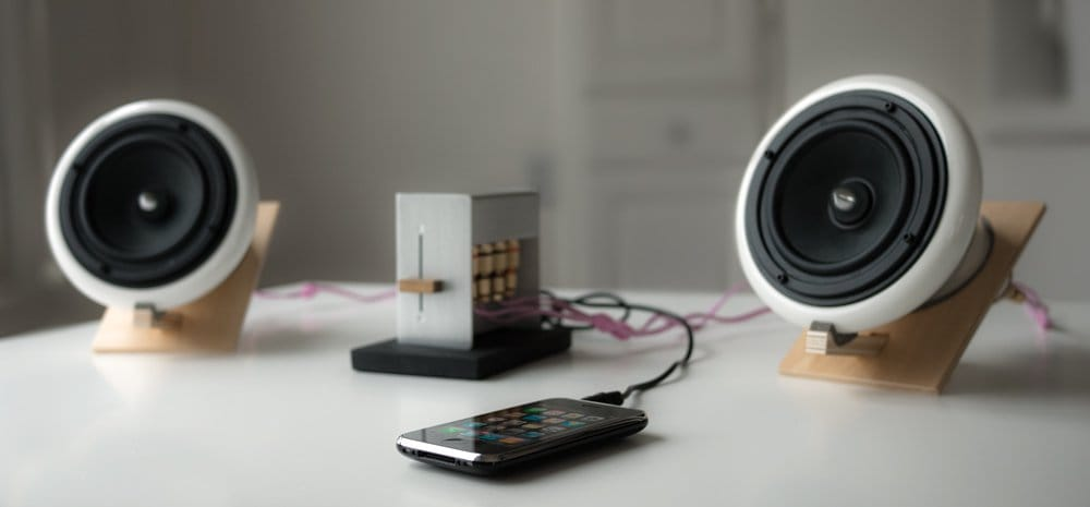 Ceramic speakers iphone