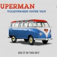 VW Combi Superman