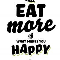 Postercard EatMore