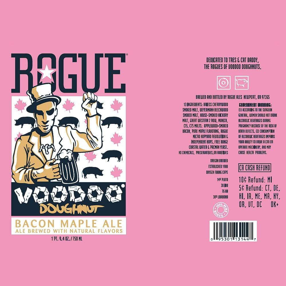 Rogue Voodoo-Doughnut Label