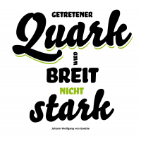 Postercard Quark White