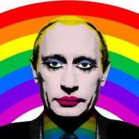 Putin rainbow