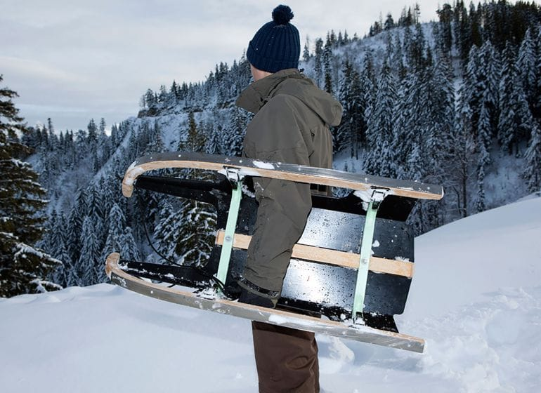 Folding-sled-making-wintertime-fun-portable-and-stackable-1