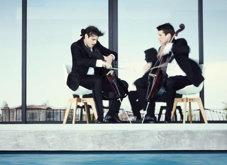 2Cellos - Performing