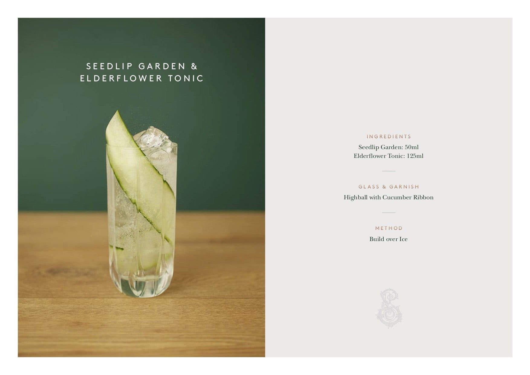 Seedlip recipes garden 2017-2